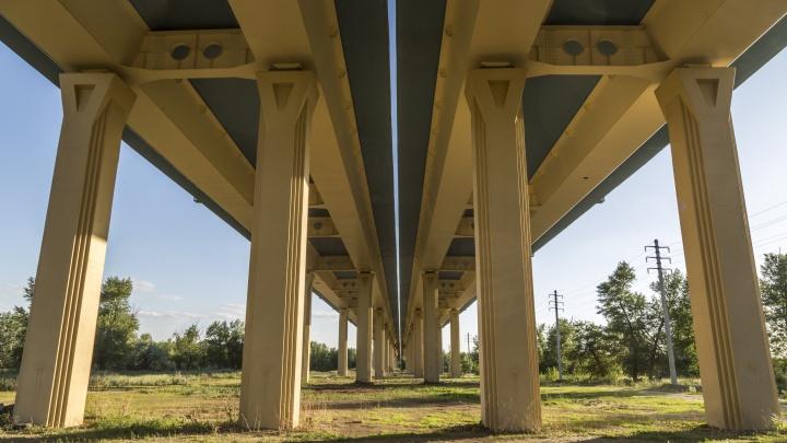 Под Волгоградом открывают мост через реку Ахтубу