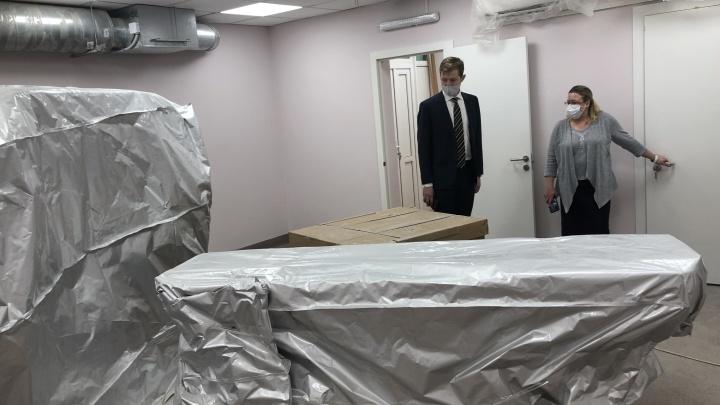 В больнице №2 Северодвинска починили томограф для диагностики COVID-19