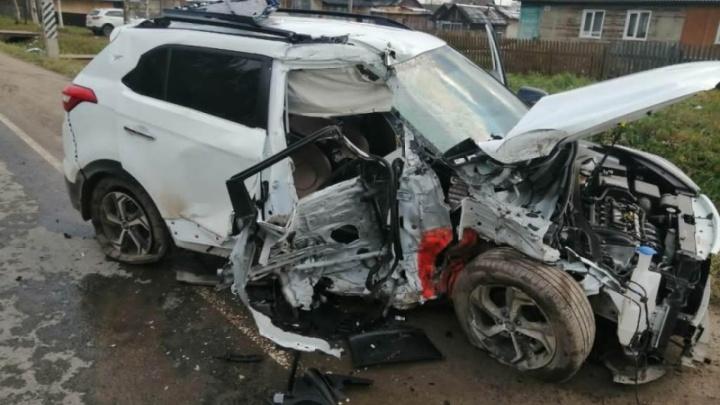 В пьяном ДТП в Устьянском районе погиб человек