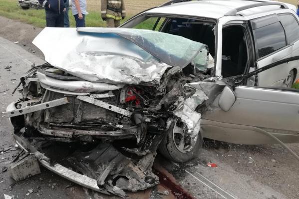 Водитель автомобиля ВАЗ-21053 скончался на месте