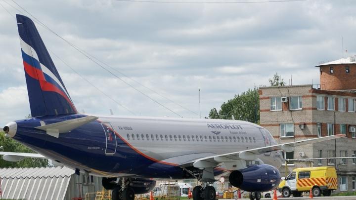 В Перми приземлился неисправный Sukhoi Superjet