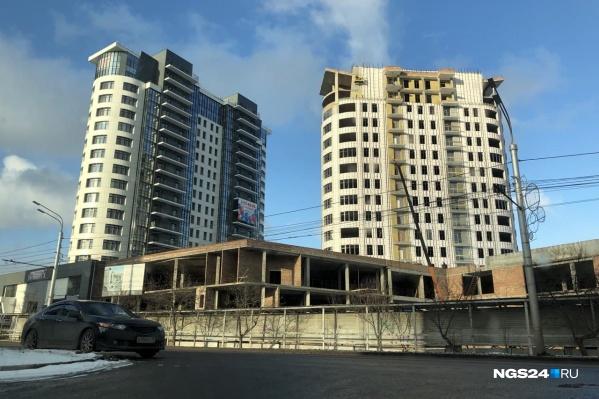 Цена на квартиры с черновой отделкой в доме стартует с 10 миллионов рублей