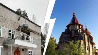 Молитвы в Доме быта: жители Савинского семь лет строят храм на свои деньги