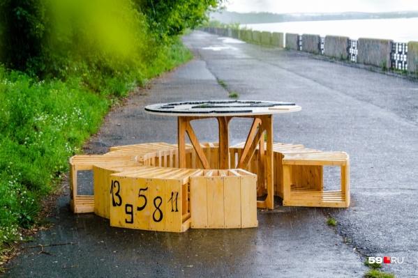 Набережную Камы в Кировском районе хотят благоустроить