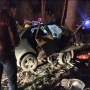 Столб разрезал авто: в Самарской области молодой водитель Lada погиб в ДТП