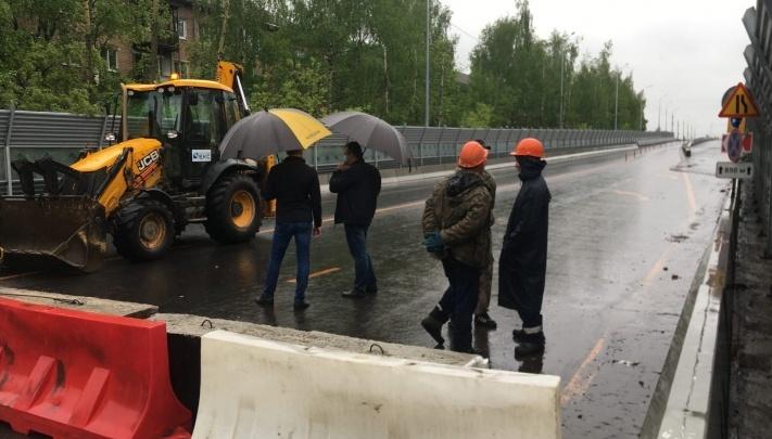В Ярославле Добрынинский мост не откроют еще несколько недель: как это объяснили власти