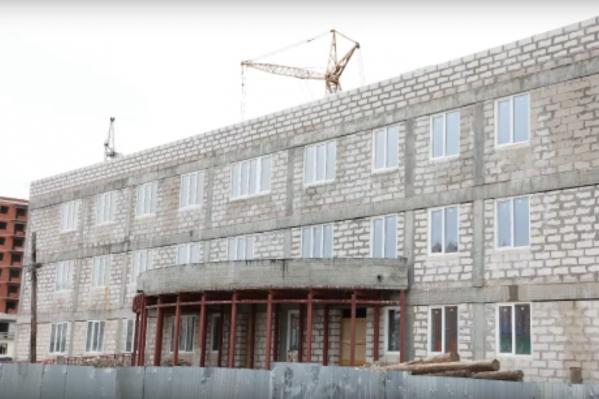 Ввод в эксплуатацию первой очереди здания намечен на первый квартал 2021 года