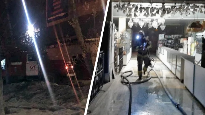 «Было сильное задымление»: в Асбесте разгорелся пожар в торговом центре