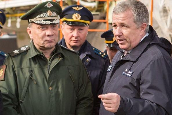 Юрий Грудинин (справа) возглавил ТАНТК им. Бериева в 2015 году