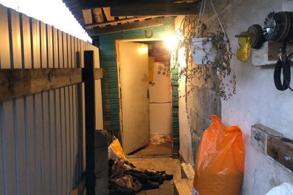 Убийство произошло в частном секторе в поселке 2-е Брагино