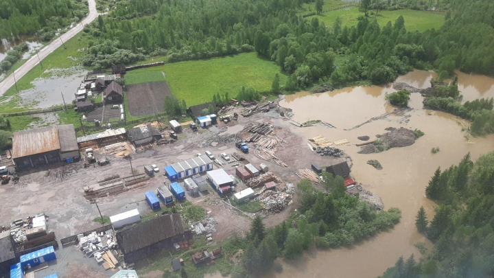 Красноярский край продолжает топить: коротко о ситуации с паводками