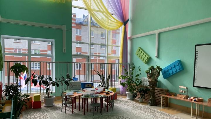 Скалодром, лаборатории и комната для релакса: фоторепортаж с открытия детского сада на Ватутина