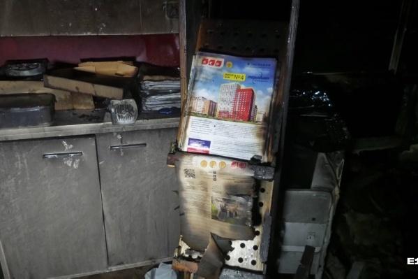 Пожар в офисе на улице Евгения Савкова произошел в ночь на 29 мая