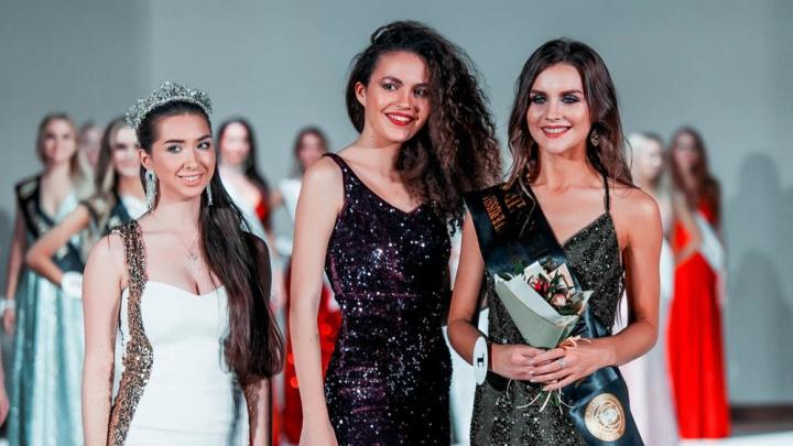 Онежанка Александра Глазова стала первой вице-мисс российского конкурса супермоделей