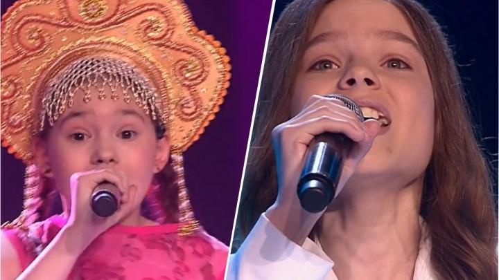 Команда Полины Гагариной на шоу «Голос.Дети» осталась без двух новосибирских школьниц
