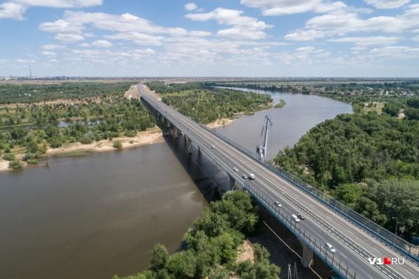 Дорогу будут строить от моста через Ахтубу