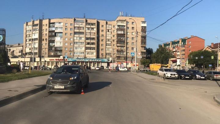 В Заельцовском районе водитель «Киа» сбил 10-летнего мальчика — ребёнка увезли в больницу