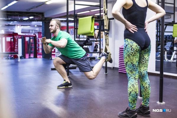 Тренироваться разрешили пока только спортсменам в муниципальных и государственных учреждениях