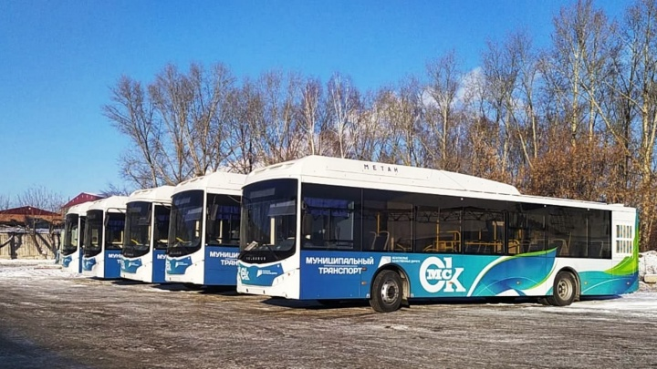 В Омск привезли пять новых «Волгабасов»