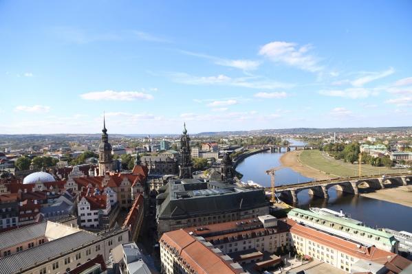Вид на Дрезден — в этот город Германии сейчас улететь нельзя