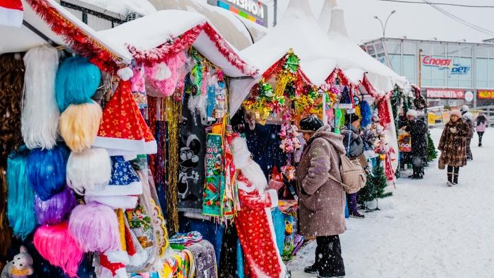 В Ленинском и Индустриальном районах Перми откроют новогодние ярмарки