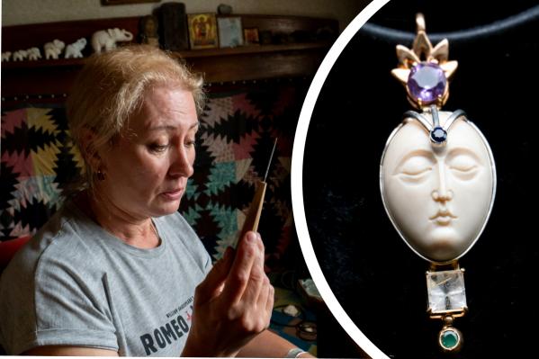 Ольга Федухина занимается косторезным искусством уже более 30 лет