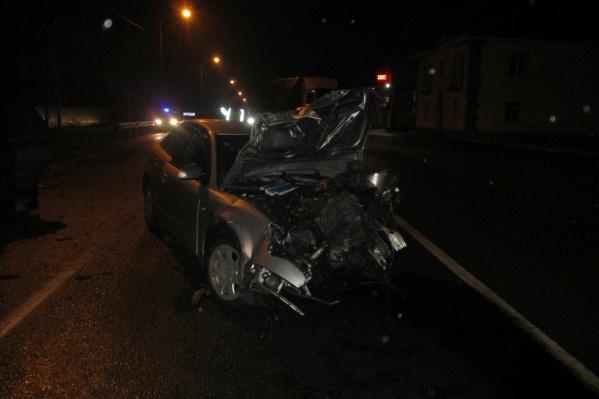 Авария случилась вечером 29 ноября