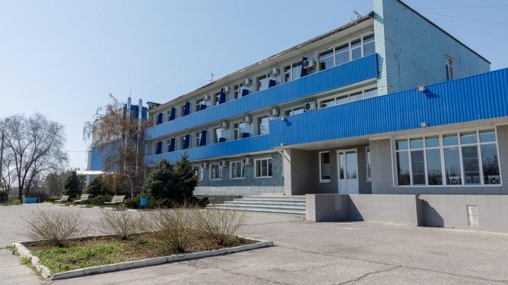 Санаторий Волжского превратили в обсервацию для потенциально зараженных коронавирусом