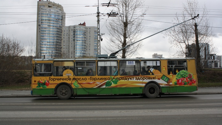 Из-за строительства трамвайной ветки в Верхнюю Пышму на Эльмаше перестанут ездить троллейбусы