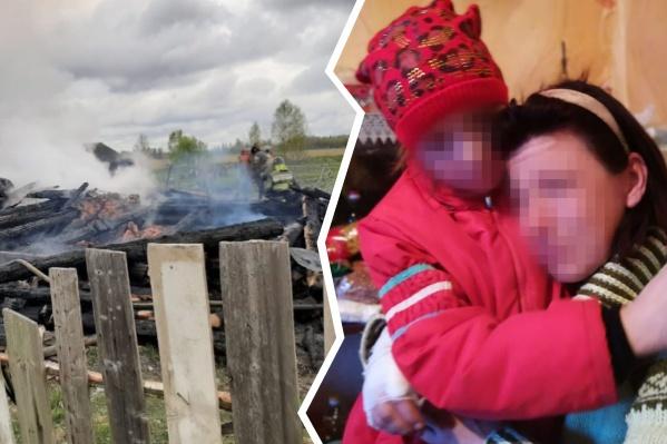 Женщина поранила руку, когда пыталась попасть в горящий дом через окна