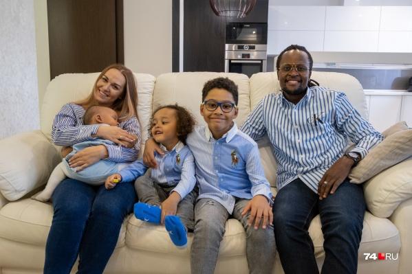 Интернациональная большая семья Матондо