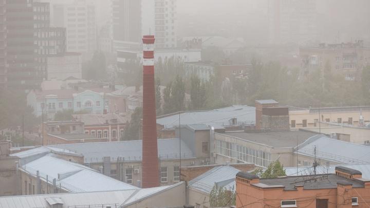 Пыльная буря снова накроет Ростовскую область