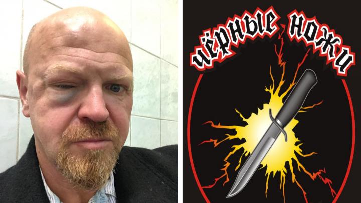 «Черные ножи» рассказали свою версию нападения на мотоциклиста в кафе «Мята»