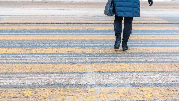5 см над дорогой: в Самаре сделают выпуклые пешеходные переходы