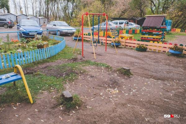 Трагедия случилась на этой детской площадке