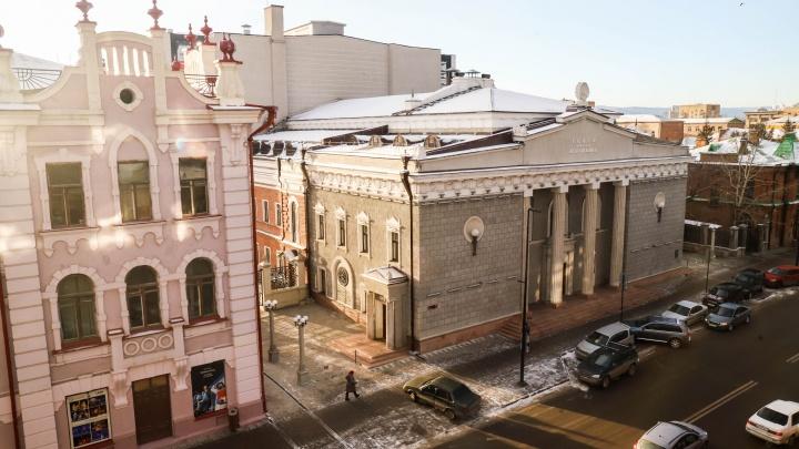 К театру Пушкина пристроят два корпуса за 350 млн рублей