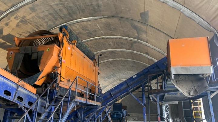 «Вложено более 71 миллиона рублей»: в Шадринске закончили строить мусоросортировочный комплекс