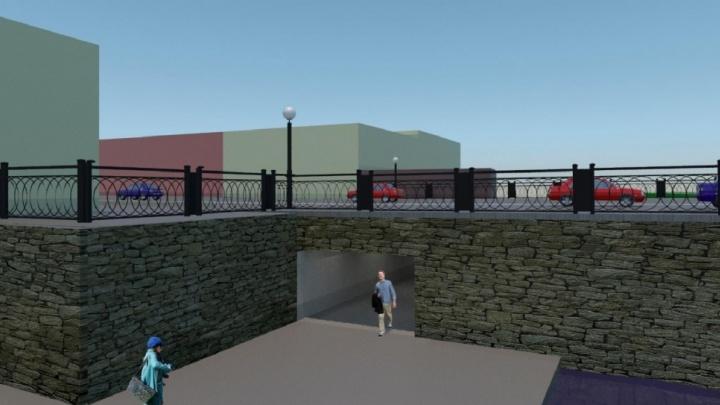 Пешеходные тротуары разместят на пилонах: каким образом расширят мост-памятник на Малышева