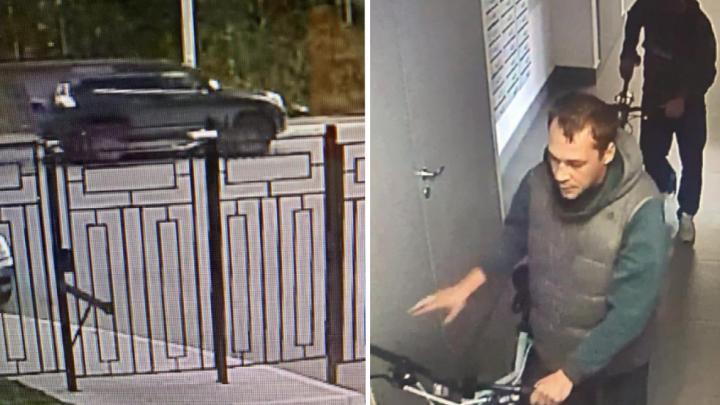 Ездят на Toyota Land Cruiser или Lexus: полиция ищет похитителей велосипедов на дорогих машинах