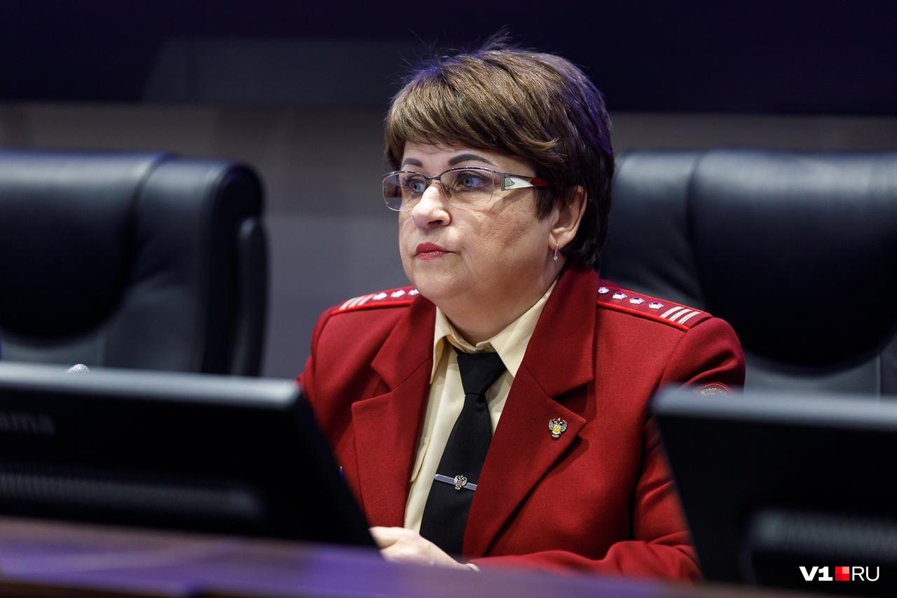 Главный санитарный врач Волгоградской области Ольга Зубарева