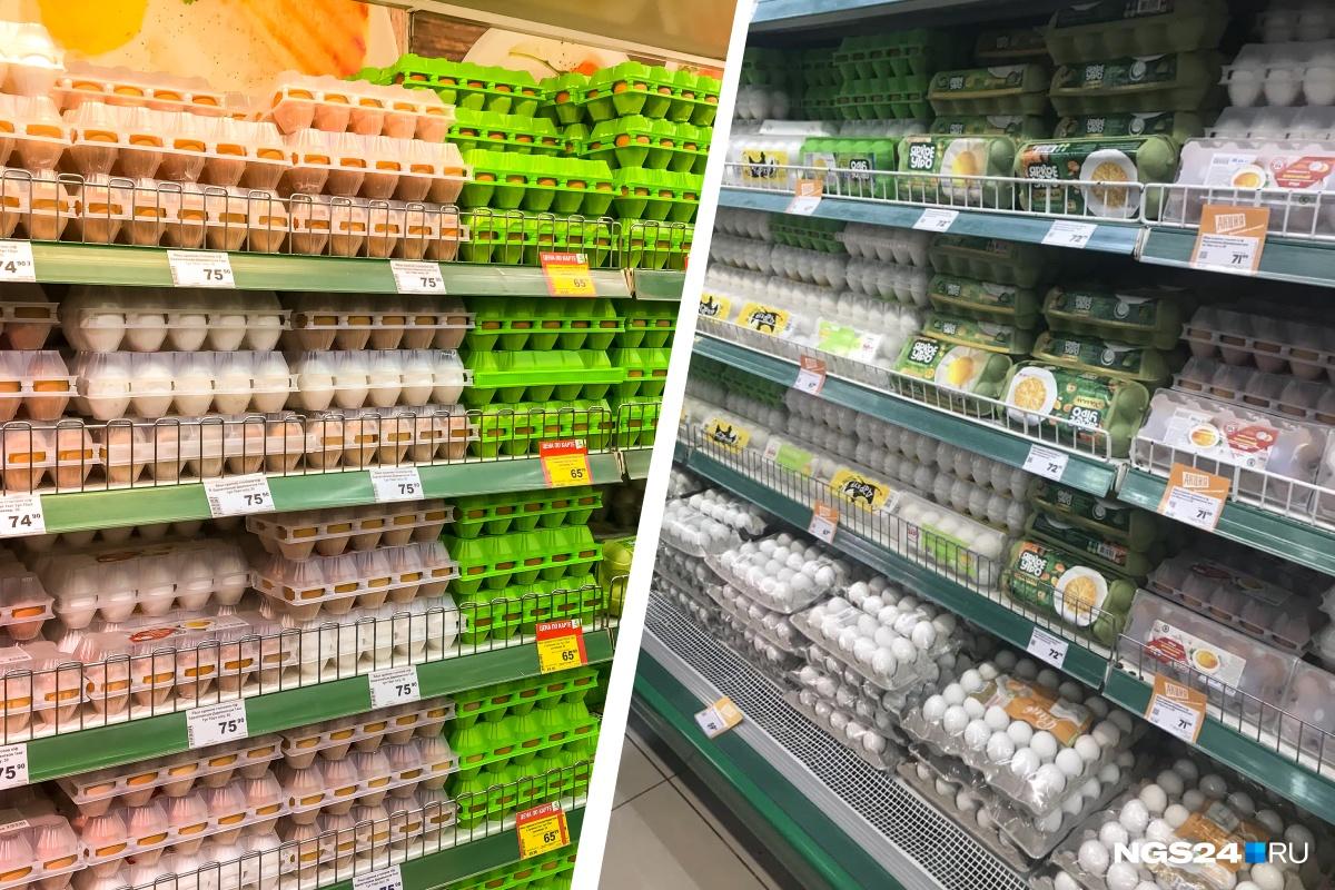 Куриные яйца в этом году можно купить по 54 рубля за десяток