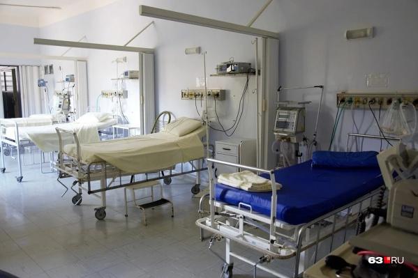Для тяжелых больных оборудованы реанимационные койки