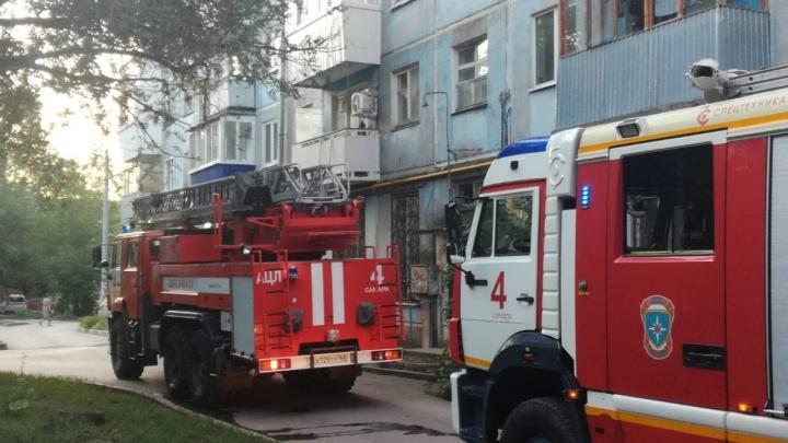В Самаре в пожаре на Аэродромной погибло 3 человека