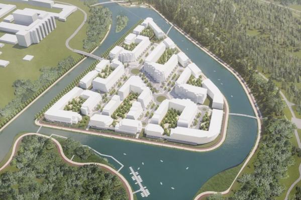 Жилой квартал на острове появится недалеко от ЦПКиО