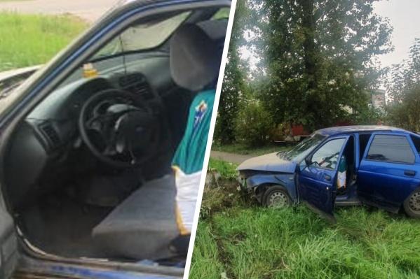 Водителя увезли с переломанными рёбрами