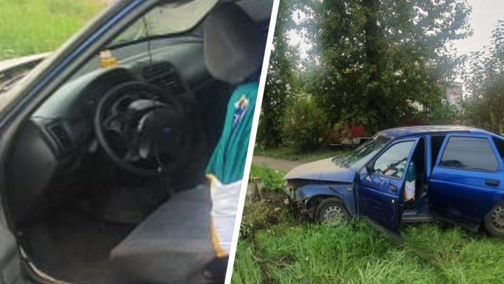 Увезли с переломанными рёбрами: пьяный водитель устроил ДТП в Ярославле
