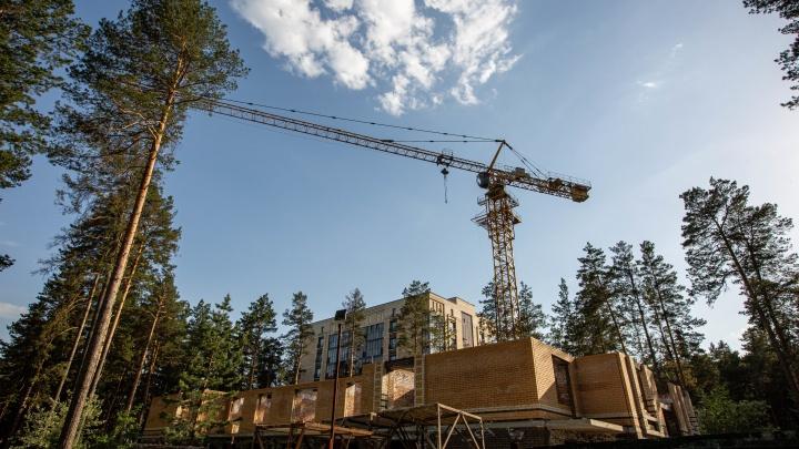 Строителя домов возле пляжа под Новосибирском банкротят за многомиллионные долги
