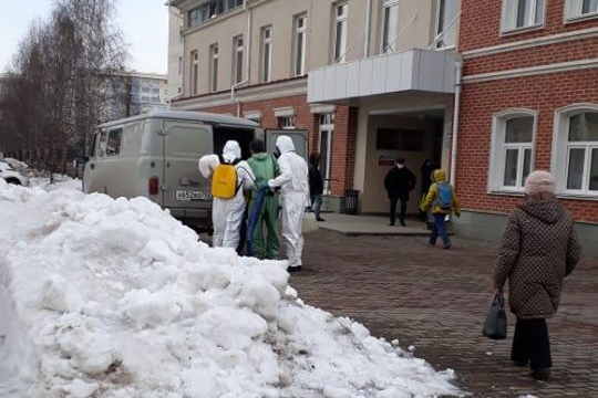 В Уфе госпитализировали женщину с подозрением на коронавирус