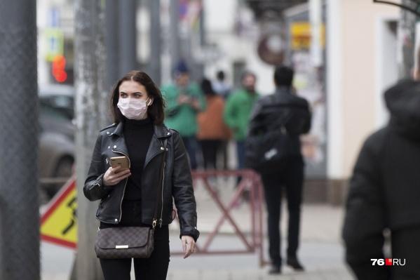 Жителям Гаврилов-Яма Ярославской области маски начали раздавать бесплатно