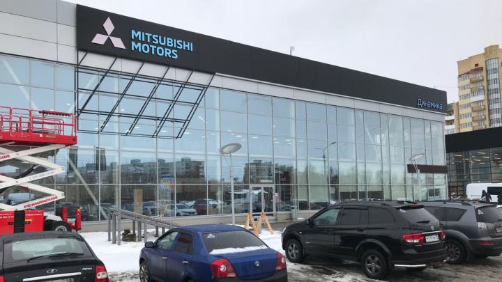 Mitsubishi изменит облик дилерского центра «Динамика» в Архангельске